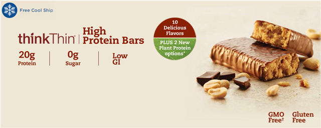 Our highest protein bar for consumers seeking post-workout energy or even meal replacement.  Also great for those watching their sugar intake.  20g protein, 0g sugar, 0 guilt. Gluten Free.