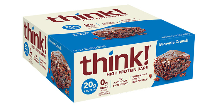 think!®   Brownie Crunch   FREE 1-3 Day Delivery