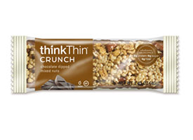 Chocolate Dipped Mixed Nuts Crunch Bar packaging