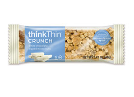 White Chocolate Dipped Mixed Nuts Crunch Bar packaging