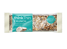 Coconut Chocolate Mixed Nuts Crunch Bar