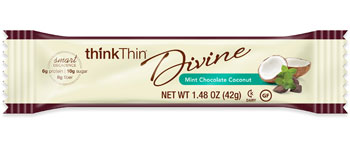 Divine Mint Chocolate Coconut Bar