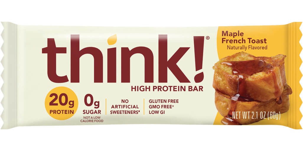 Image of think! High Protein Bar, Maple French Toast packaging