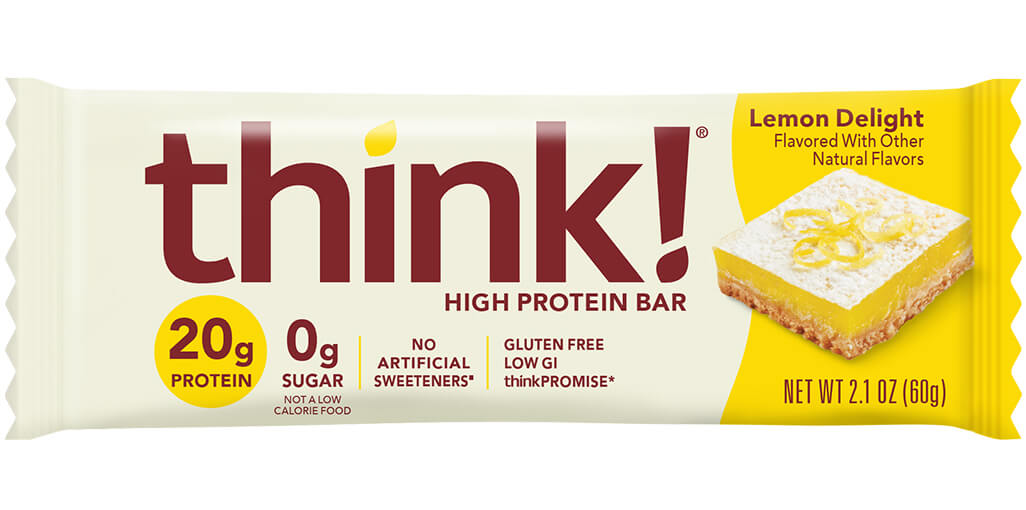 think! High Protein Bar, Lemon Delight image