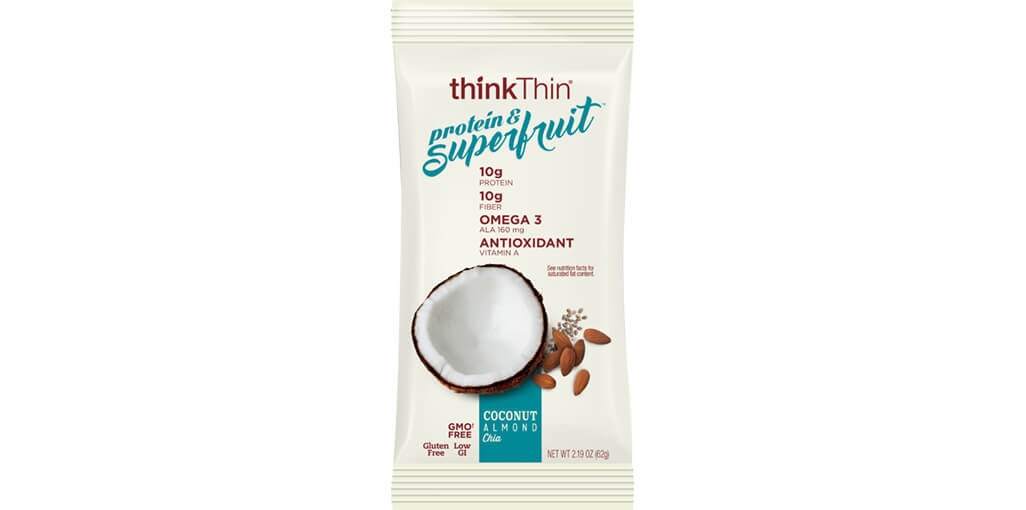 think! Protein & Superfruit Bars, Coconut Almond Chia image