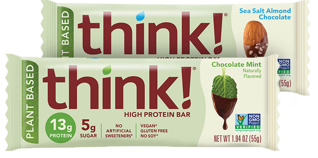 Plant Based High Protein Bar Variety 12-Pack