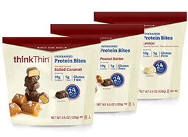 Protein Bites Variety 6-Pack packaging