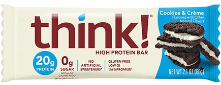 Cookies & Crème Protein Bar [tkp-709215.jpg] - Click for Details