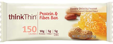 think! Protein+ 150 Calorie Bar, Honey Drizzle Peanut - click for more information or to buy now