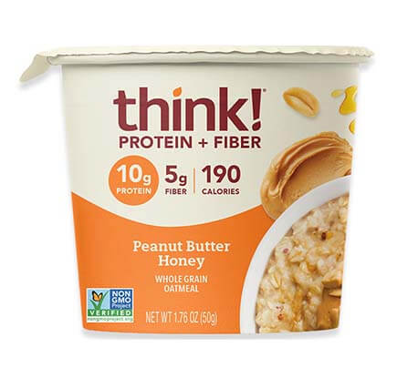 Honey Peanut Butter Oatmeal Single Serving Bowl [tkp-711911.jpg] - Click for Details