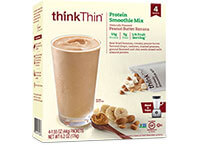Protein Smoothie Mix Peanut Butter Banana [tkp-712666.jpg] - Click for Details