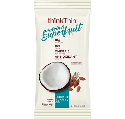 Image of Coconut Almond Chia packaging