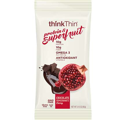 Chocolate Pomegranate Cherry Protein & Superfruit Bar [tkp-713557.jpg] - Click for Details