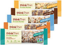 Protein Nut Bar Complete Variety 15-Pack [tkp-vppnb15.jpg] - Click for Details